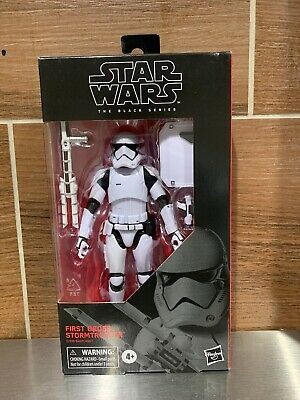 Star Wars Black Series NEW * First Order Stormtrooper * #97 Figure 6-Inch Hasbro