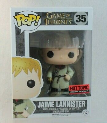 Funko Pop Hot Topic Exclusive Jaime Lannister GOT Game Thrones Vinyl Figure 35