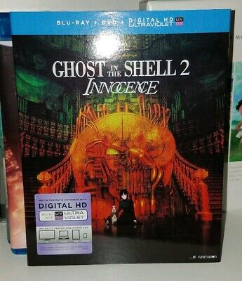 Ghost in the Shell Movie bluray lot