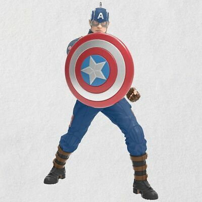 Hallmark 2019 Captain America Limited Edition -Free Shipping.