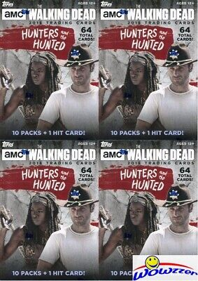 (16) 2018 Topps The Walking Dead The Hunters & the Hunted Blaster Box-16 HIT