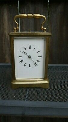 antique french carriage clock with repeat strike