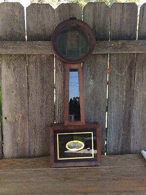 Antique American Banjo Clock Case Only