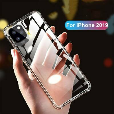 For Apple iPhone 11 Pro Max XS XR Luxury Soft Clear Ultra Slim Rubber Case Cover