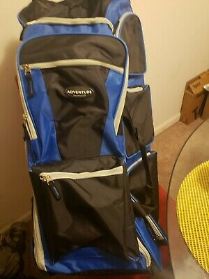 Adventure Traveler's Club - Roller bag - Blue
