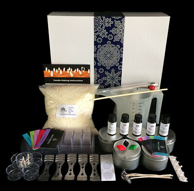 Christmas Soy Candle Making Kit with BONUS Pouring Jug, Melts and Labels