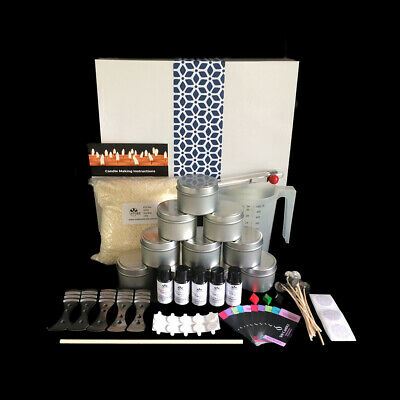 High Quality Soy Candle Making Kit with Jug,Tins,Thermometer,Colour, Labels