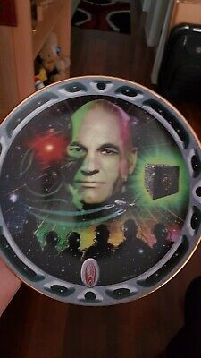 Star Trek Franklin Mint Locutus Of Borg Plate
