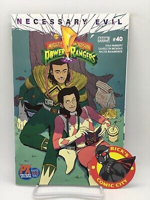 MIGHTY MORPHIN POWER RANGERS #40 White Ranger Var 2019 SDCC Comic Con Exclusive