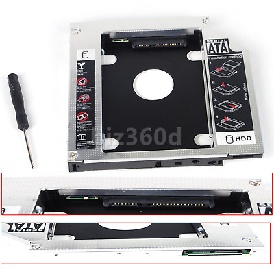 Dell Vostro 3460 3560 2nd HDD SSD Hard Drive 12.7mm SATA Caddy Adapter Bay