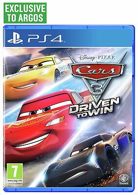 Cars 3: Driven to Win Sony Playstation PS4 Game