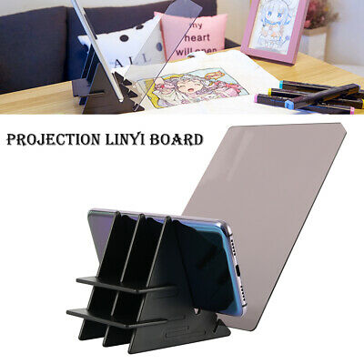 Artist Light Tracing Pad Sketch Board Wood Stand Kit for Drawing Animation M3G9
