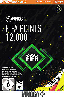 FIFA 20 - 12000 FUT Points - EA Origin Code - 12,000 Nur für PC Version Key