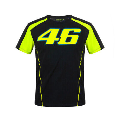 New - Official VR46 2018 Valentino Rossi 46 Tee T-Shirt