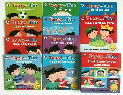 Topsy & Tim Collection Of 10 First Experience Books Kids Age 3+ Christmas Gift