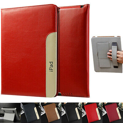 "Leather Stand Flip Case Cover For iPad Mini 1 2 3 4 5 iPad 5 6th 9.7"" 2017/2018"