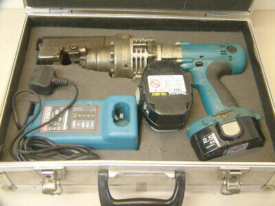 Ogura Rebar Cutter Portable, 13mm Steel Bar Cutter - Makita 18v Battery Powered