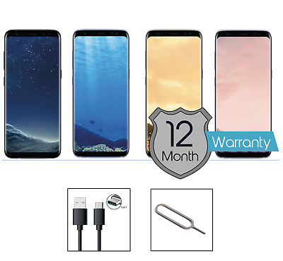Samsung Galaxy S8 SM-G950F - 64GB - (Unlocked) Smartphone Various Colours Grades
