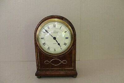 Antique Walnut Mantel Clock