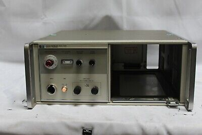 HP Agilent Keysight 8410B Network Analyzer Mainframe polar display