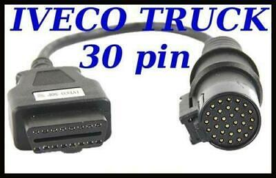 IVECO TRUCK Diagnostic Cable 30 PIN connector FOR AUTOCOM, DELPHI, WURTH ECLIPSE
