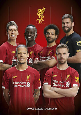 Liverpool FC Official 2020 Wall Calendar | 30% Off ANY Additional Calendars!