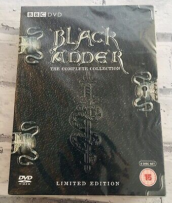 Black Adder The Complete Collection + Christmas  Limited Edition DVD Boxset NEW