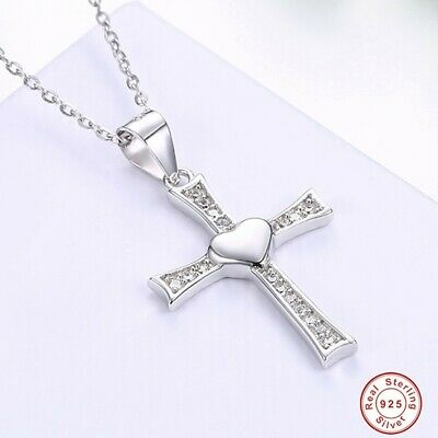 Divine Unisex Toddler 925 Silver/Platinum Plated Pendant Necklace Baptism Gift
