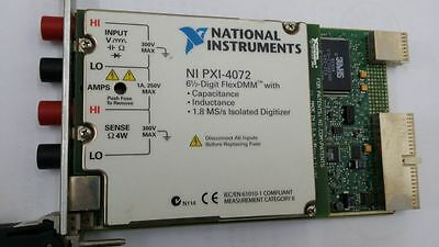 NATIONAL INSTRUMENTS,NI PXI-4072, tested , in good working condition