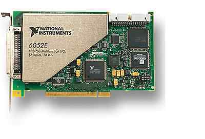 NI PCI-6052E , tested, in good working condition