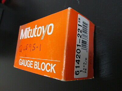 "Mitutoyo Gage Block .137"" inches"