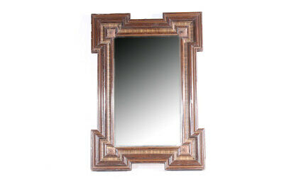 Beautiful Large Old Mirror with Wood Frame Vintage Wall Mirror Wardrobe