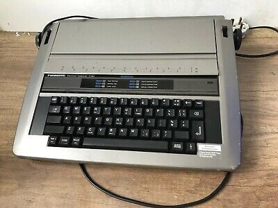 Panasonic KX-R190 Electronic Electric Typewriter, used, excellent condition