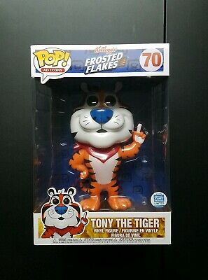 """Funko Pop Ad Icons Tony The Tiger Frosted Flakes 10"""" Funko Shop Exclusive"""