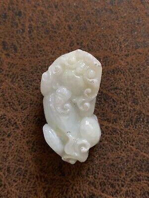 Small Jade Nature Lion Asian Lucky