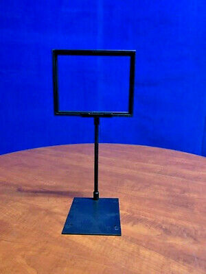 Black Sign Holder Counter POP Sale Advertisement Retail Display Stand Plastic
