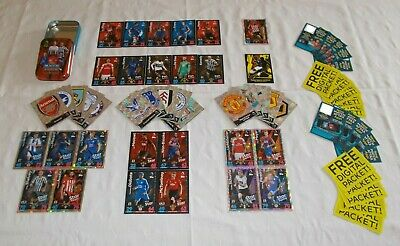 Match Attax 18 - 19 = Bundle of 60 Cards + OPEN Mini Tin (B14)