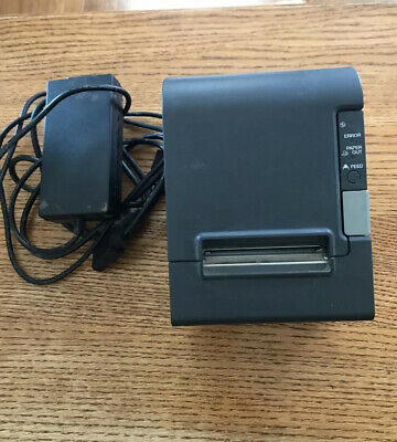 Epson TM-T88IV Thermal POS Receipt Printer  M129H With Power Supply Working