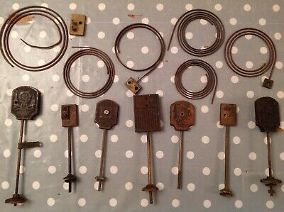 Antique Clock Chimes Gongs Rods From Clockmakers Collection Spare Parts