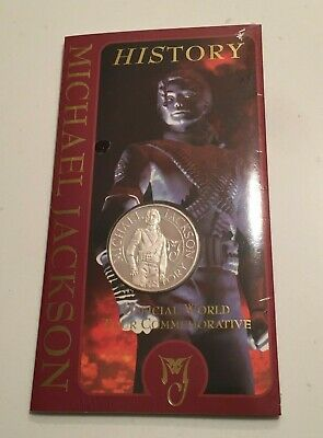 Official History Silver Coin - Still Sealed!! - Usa 1996 - Michael Jackson