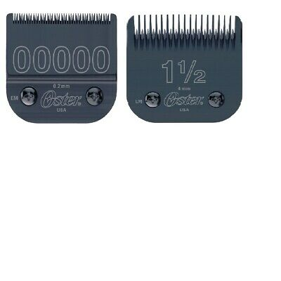Oster Detachable Blades 76918-676 1-1/2 & 76918-606 00000 Sizes