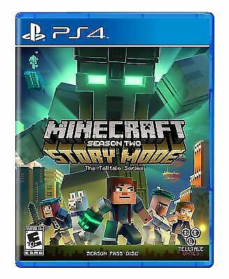Minecraft Story Mode Season 2 Standard Edition Video Game (PlayStation 4, 2017)