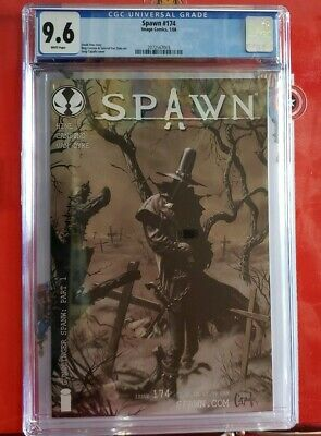 🍒🍒 Spawn #174  CGC 9.6 1st Gunslinger SPAWN!! HTF!!! NO RESERVE AUCTION 1🍒🍒