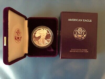 1989-S American Silver Eagle Proof Coin