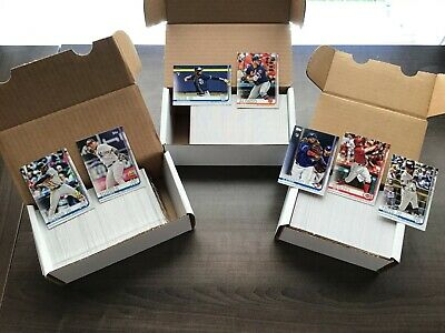 2019 Topps Series 1, Series 2 & Update Complete Base Set  ~ 1000 Cards