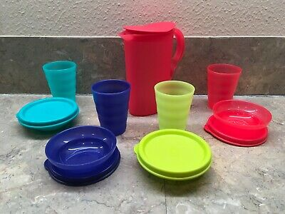 Tupperware Impression Mini Party Set-Toy Pitcher, bowls and tumblers