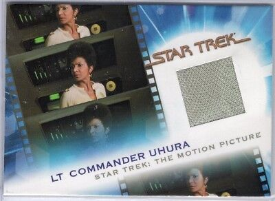 MC6 Lt Cmdr Uhura - Complete Star Trek Movies Relic Insert Card 0170/1701