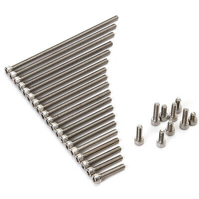 304 Stainless Steel Screws Hex Cup Head Bolt 10xM6
