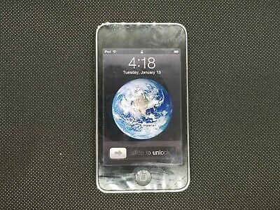 Apple iPod touch 3rd Generation Black (8 GB) Fully Functional