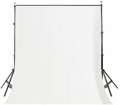 Photography White Background Screen Portable Stand Photo Backdrop Crossbar 5x7ft